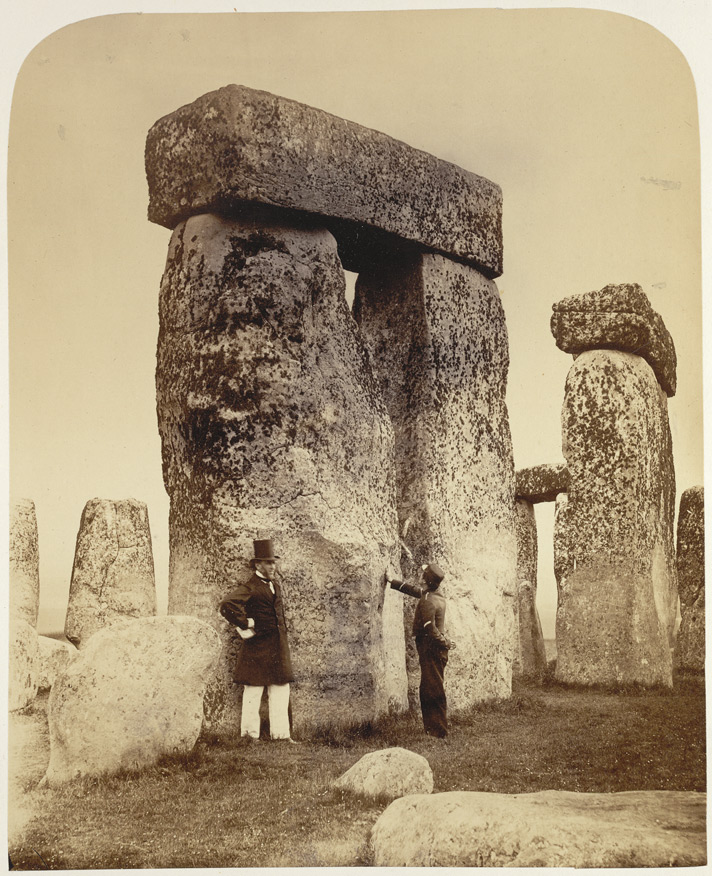 Stonehenge, Photographed By Henry Janes, 1867